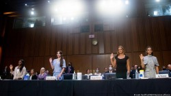 Us Gymnasts Blame Sports Officials Fbi For Enabling Abuse