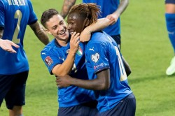 Italy Lithuania Match Report Moise Kean All Time Unbeaten Record