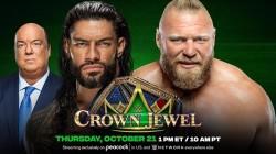 Crown Jewel 2021 Wwe Announces Roman Reigns Vs Brock Lesnar