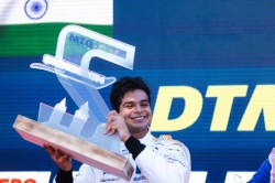 Arjun Maini Creates History At Norisring Becomes The First India To Stand On Dtm Podium