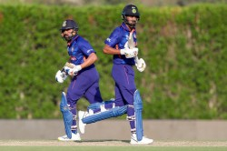 India Vs Australia Warm Up Match 2021 Highlights Rohit Shines As India Notch Up Comfortable 8 Wkt