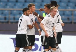 Germany blank Colombia 4-0 to enter quarterfinals