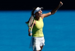 Wozniacki revels in fightback