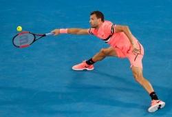 Dimitrov, Tsonga survive scares; Nadal through