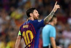 Champions League: Messi scores hat-trick; Inter stun Spurs