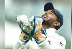 Rishabh Pant equals world record with 11 catches
