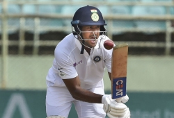 Mayank Agarwal: Basin Reserve track difficult to negotiate