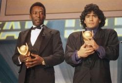 Pele pays tribute to Diego Maradona