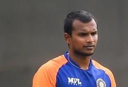 IPL 2021: Natarajan tests Covid positive