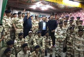 Sangram meets ITBP jawans