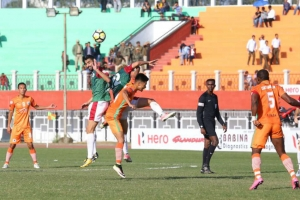 I-League: Bagan clinch five-goal thriller to dent Neroca's title hope