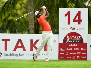 Take Solutions Masters: Thai youngster Boonma puts on sizzling display to secure five-shot lead