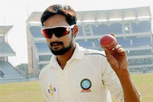 Nadeem replaces Kuldeep Yadav