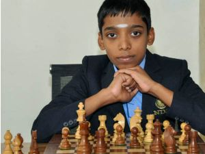 Chess prodigy recalls meeting Anand