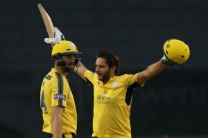 Shahid Afridi Slams 42 Ball Century Natwest T20 Blast