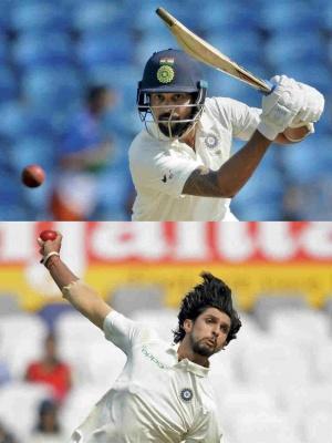 Vijay, Ishant Sharma beat the inner demons on return