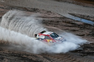 Al Attiyah wins Dakar's 12th stage, Sainz on course for title