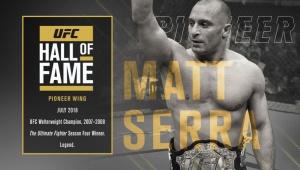 Matt Serra added to UFC Hall of Fame Class of 2018