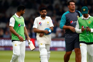 Pakistan's Babar ruled out of England series