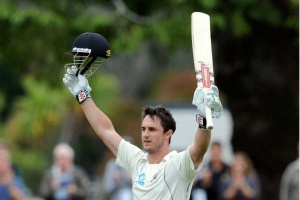 New Zealand A reply strongly to India A through Hamish Rutherford