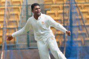 Karnataka lose 3 wickets in chase of 184 in Ranji quarters