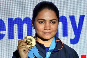 ISSF World Cup: Apurvi Chandela breaks world record, wins gold