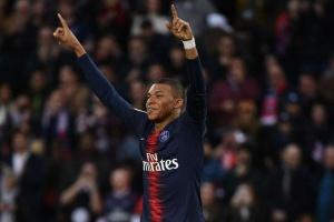 Paris Saint-Germain 3 Nimes 0: Mbappe reaches Ligue 1 milestone