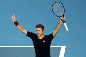 Australian Open 2020: Federer fends off Millman in epic 100th win
