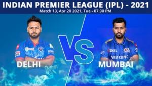 IPL 2021: DC vs MI, Match 13 Live Updates: Delhi, Mumbai face off in Chennai