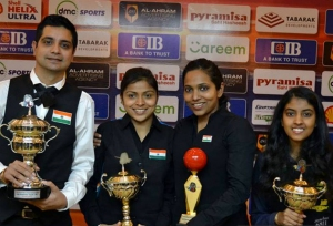 Indian cueists impress at Worlds