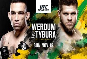 UFC Fight Night 121 fight card