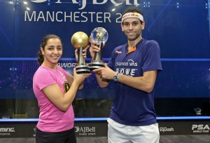 Mohamed and Raneem are world champs