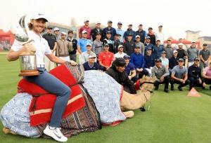 Desert Swing opener  in Abu Dhabi