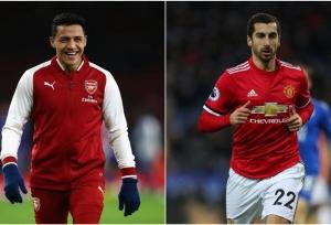 Arsenal swap Sanchez for Mkhitaryan