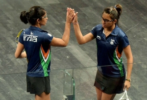 Chinappa, Pallikal seeded third in CWG squash doubles