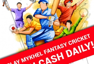 MyKhel Fantasy Cricket: Predict best XI