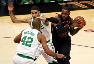 LeBron James saves Cavaliers