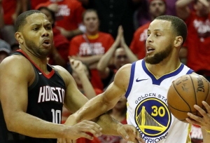 Rockets push Warriors to brink