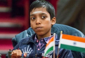 Praggnanandhaa is India's youngest GM