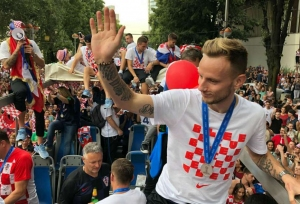 Croatia greeted by 550,000 fans