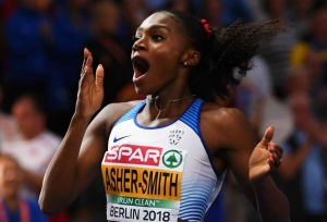 Ingebrigtsen, Asher-Smith at double