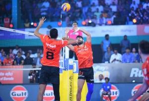 Black Hawks Hyderabad beat U Mumba