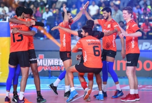 U Mumba Volley qualify for play-offs