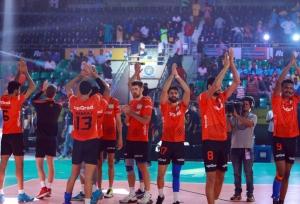 PVL: U Mumba Volley beat Chennai Spartans to keep play-off hopes alive