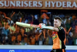 Warner scores 43-ball 65 in warm-up game