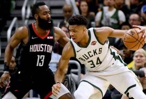Giannis, Harden make NBA First Team