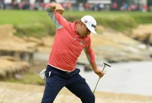Woodland wins U.S. Open