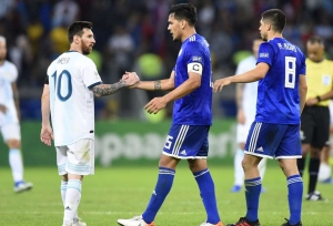 Scaloni: Argentina lucky at Copa