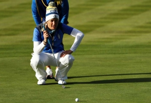 Europe stun USA to win Solheim Cup