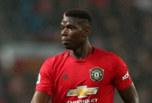 Pogba has cast removed in boost